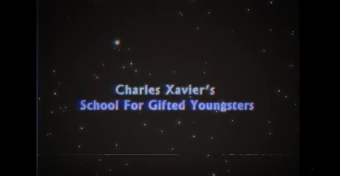 Xavier's School for Gifted Students – Promo!