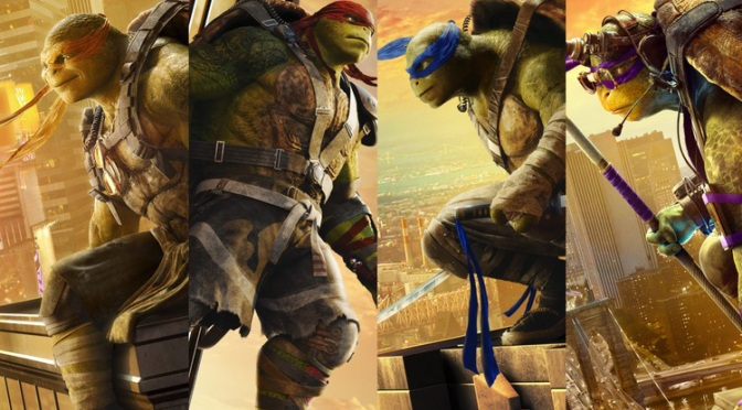 Teenage Mutant Ninja Turtles: Out of the Shadows – Brand New Clips!
