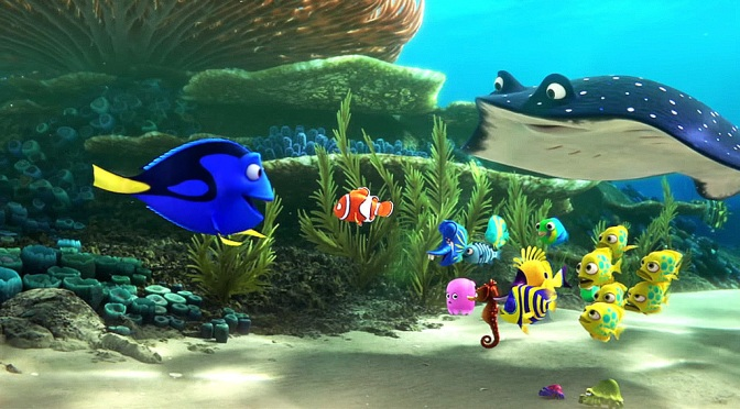 Finding Dory – Brand New Clips!
