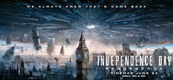 Independence Day: Resurgence – Brand New Clips!