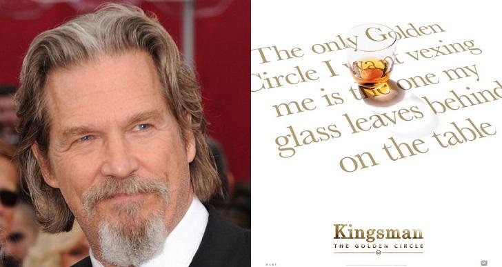 Jeff Bridges announces via Twitter that he is part of Kingsman: The Golden Circle.