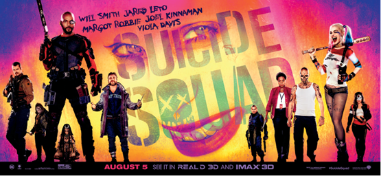 Competition: Win a SUICIDE SQUAD Merchandise Bundle!