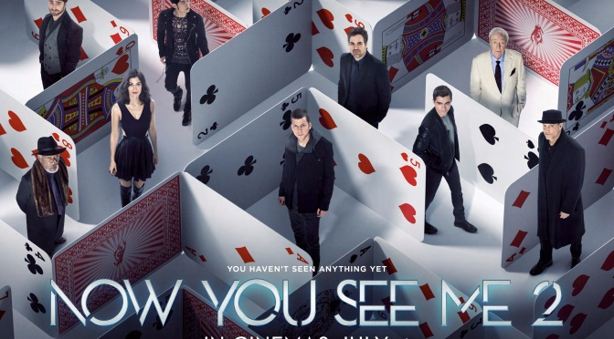 Competition: Win a NOW YOU SEE ME 2 Bundle!