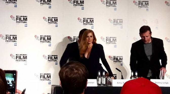 Amy Adams and Jeremy Renner talk Arrival at BFI Press Conference