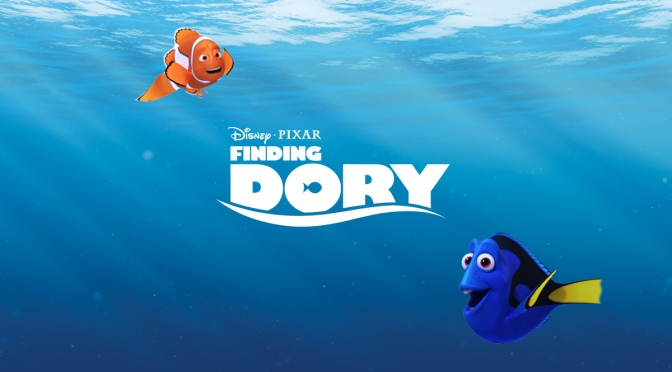 Finding Dory – DVD & Blu-Ray Review