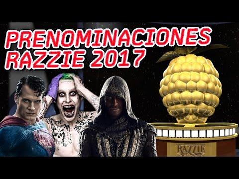 The Razzies 2017 – Nominations