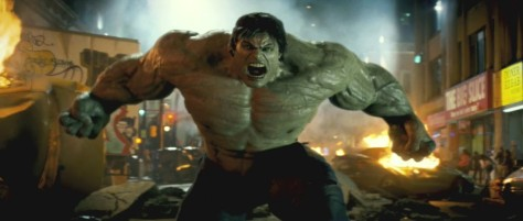 Image result for 18) The Incredible Hulk (2008)