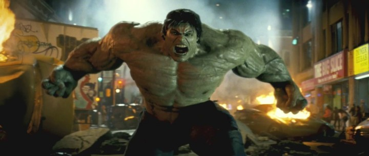 Image result for 18) The Incredible Hulk(2008)